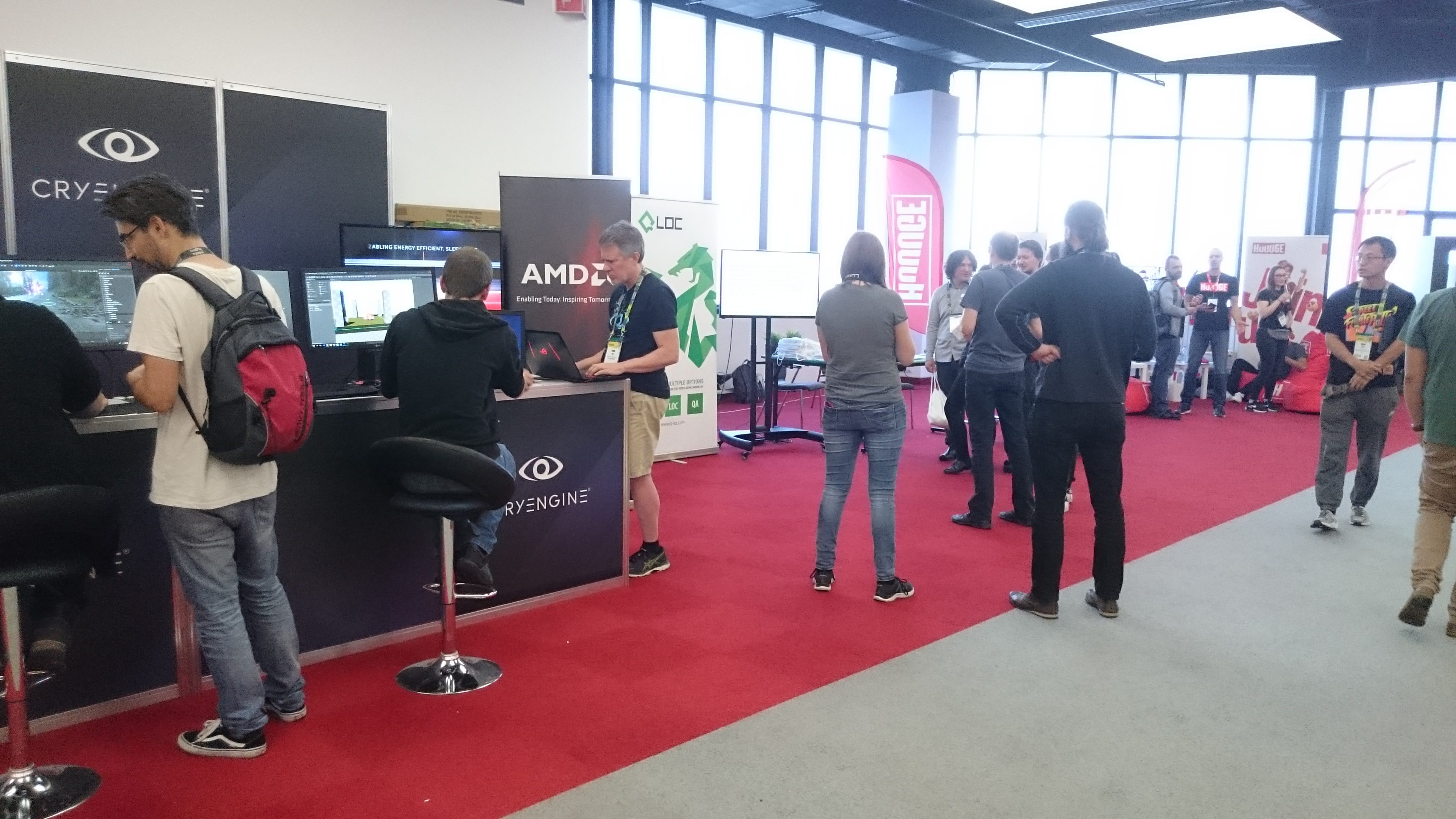 Stoiska na Game Industry Conference 2018