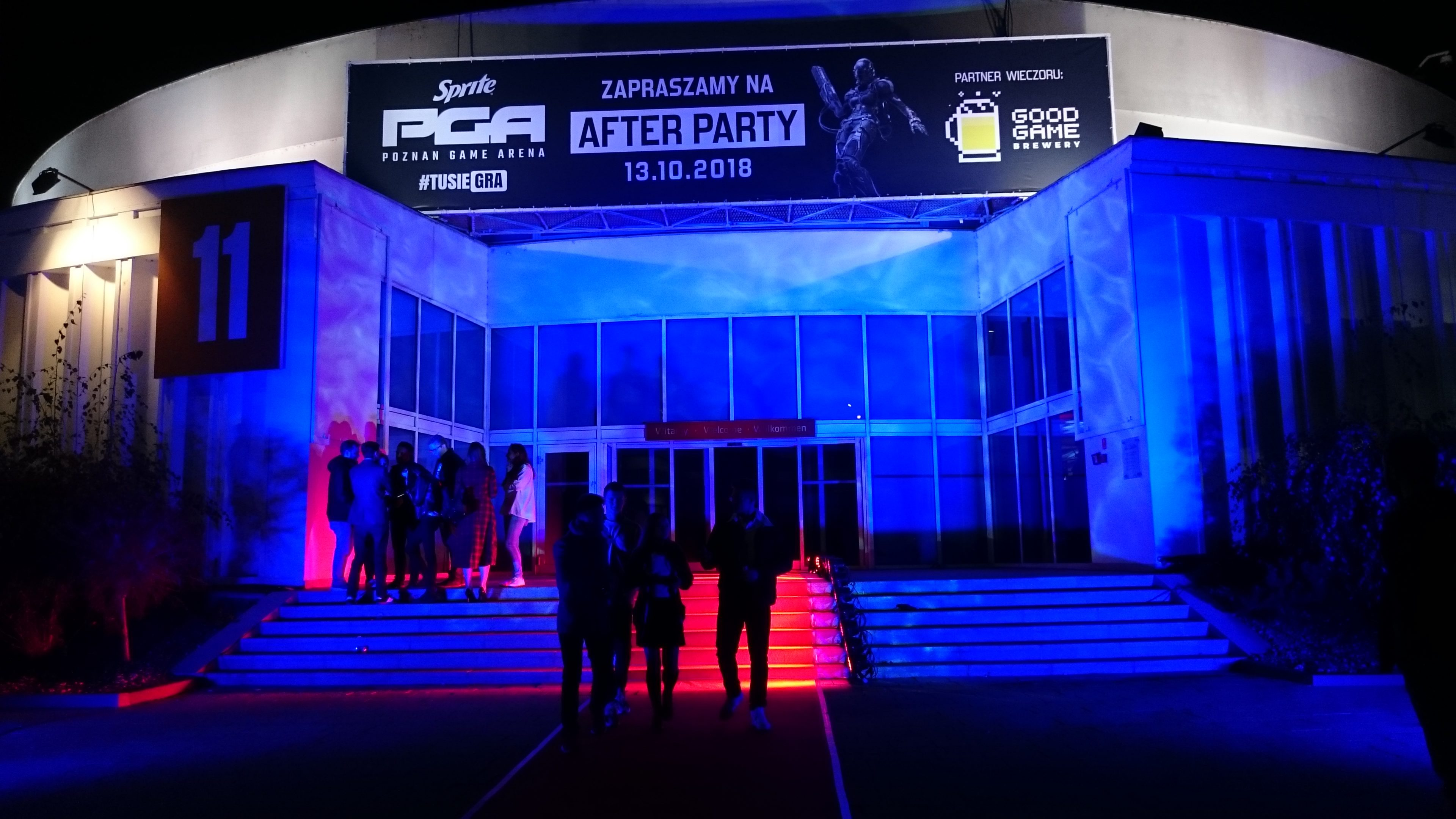 Wejście na PGA After Party