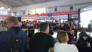 Tłumy w pawilonie Media Marktu na PGA 2018