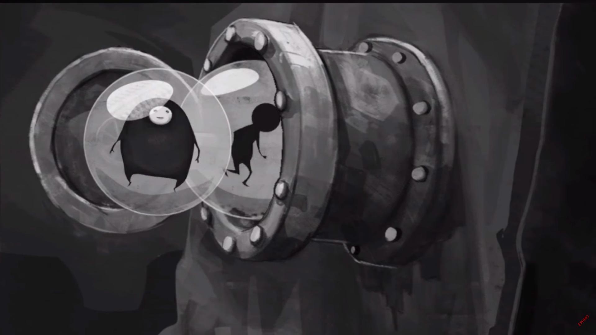 Escape Plan - Azyl - cutscenka (Wśród rur)