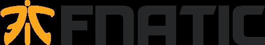 Logo FNATIC z czarnym tekstem