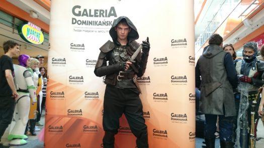 Glorf Workshop w cosplayu podczas weekendu z cosplayerami w Galerii Dominikańskiej we Wrocławiu