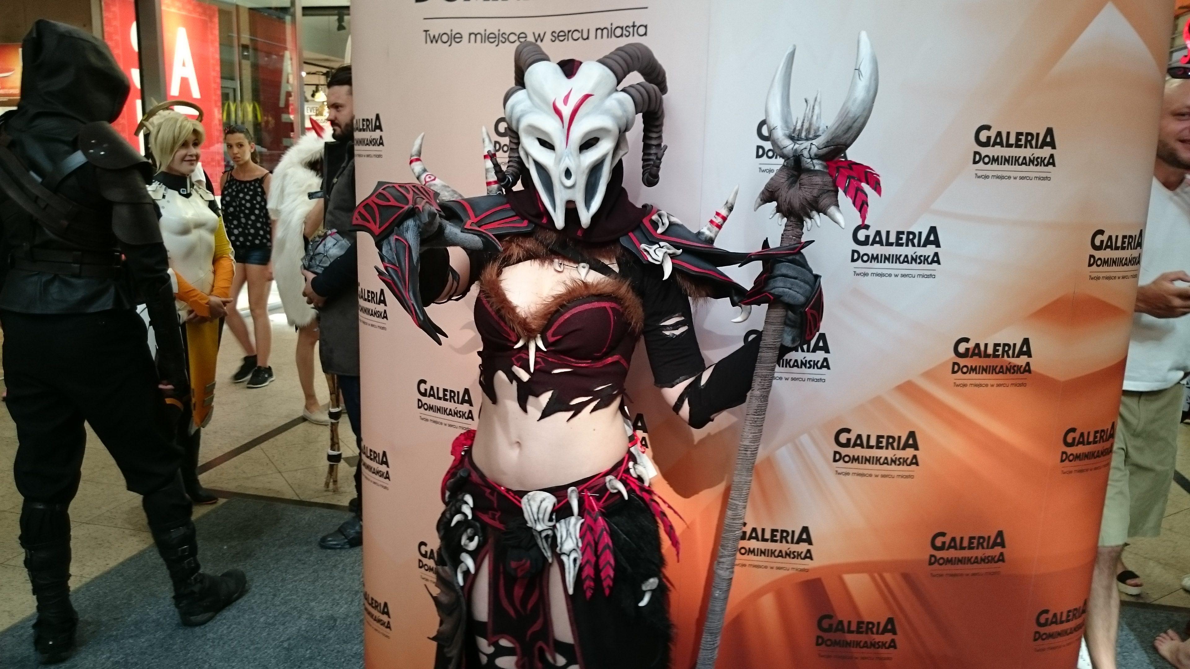 Margaret w cosplayu podczas weekendu z cosplayerami w Galerii Dominikańskiej we Wrocławiu