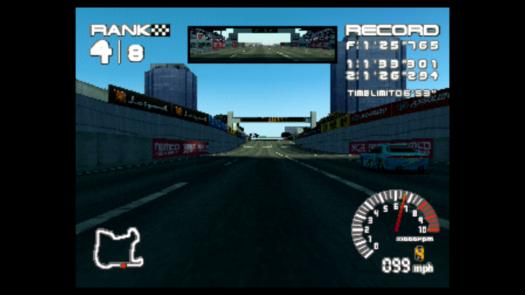 Ostatnia prosta w grze R4 Ridge Racer Type 4