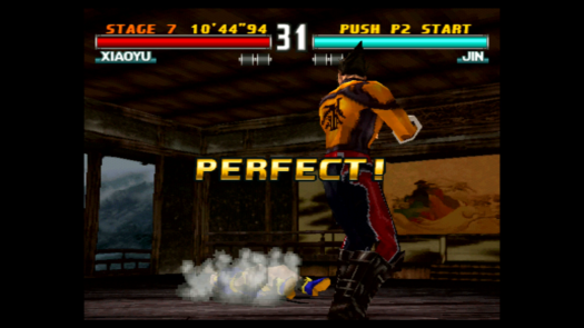 PERFECT! w grze Tekken 3