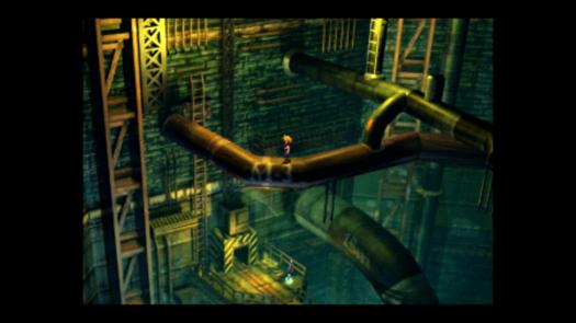 Przykładowa lokacja w Final Fantasy VII
