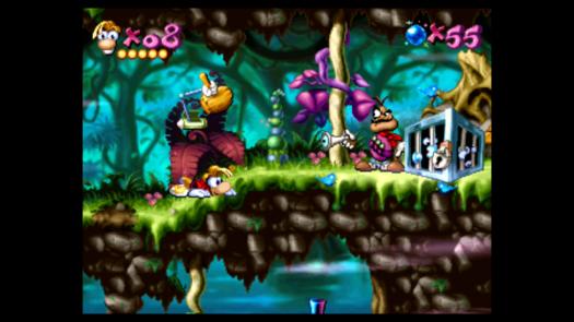 Przykładowy zrzut ekranu z gry Rayman