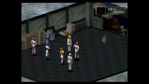 Przywoływanie Persony w grze Revelations Persona