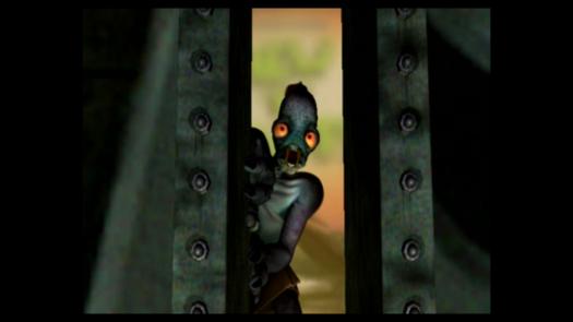 Scena z intro do gry Oddworld: Abe's Oddysee