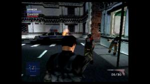 Strzelanina w grze Syphon Filter