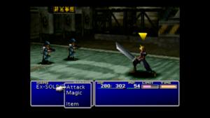 Tryb walki w Final Fantasy VII