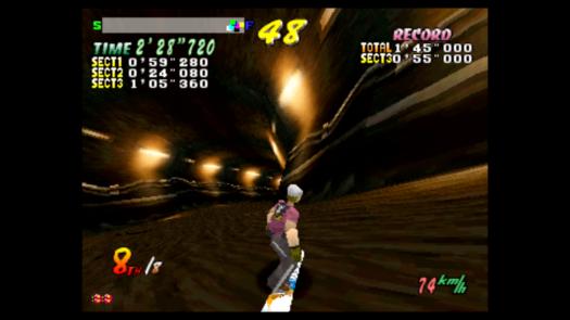 Wyścig w Cool Boarders 2