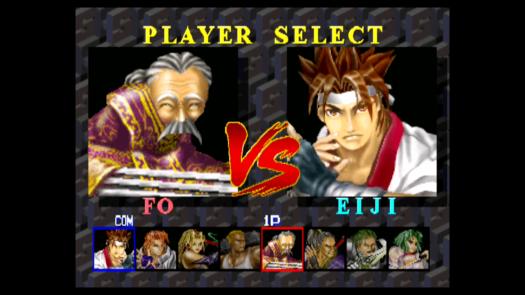 Wybór postaci w Battle Arena Toshinden