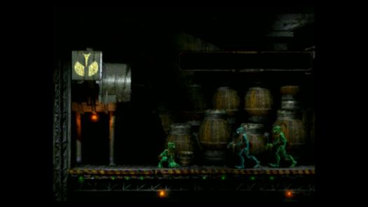 Wyprowadzanie więźniów w Oddworld: Abe's Oddysee