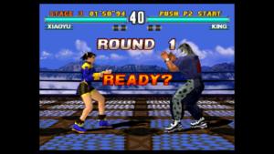 XIAOYU vs KING w grze Tekken 3