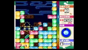 Zrzut ekranu z gry Mr. Driller