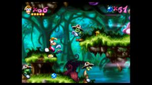 Zrzut ekranu z gry Rayman