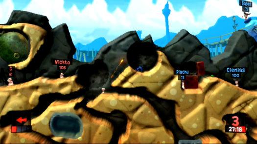 trzał z Bazooki pod odpowiednim kątem w trakcie misji Piasek i zniszczenie spowoduje ciąg reakcji zadających znaczące obrażenia wrogim robalom - Bąblowi, Piachu i Cieniasowi