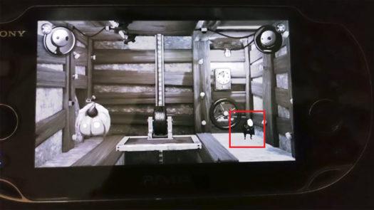 Sługus na poziomie Wieczny górnik na konsoli PS Vita