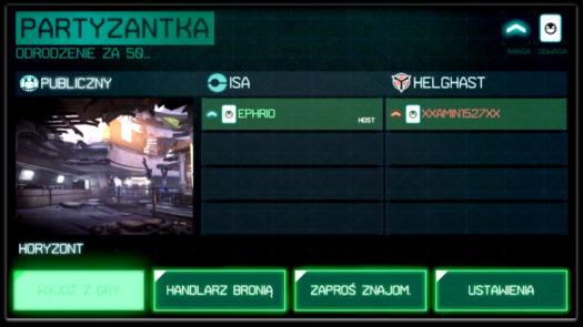 """""""Wirtualny"""" host w grze online w Killzone: Mercenary"""