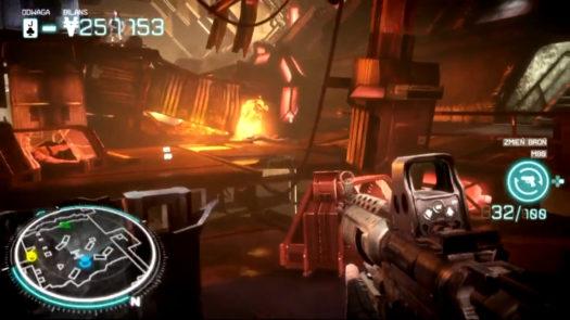 Przykładowa lokacja w grze Killzone: Najemnik