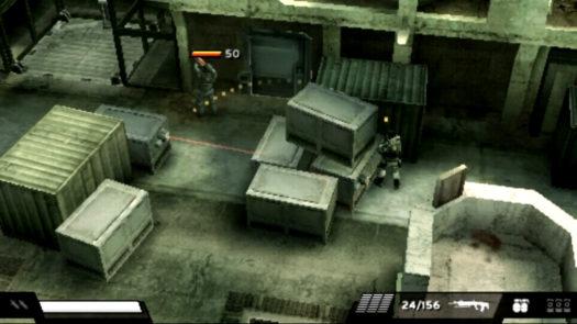 Rzut izometryczny w grze Killzone Liberation