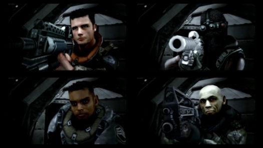 """""""Ta sama"""" cutscenka z perspektywy każdej z postaci w grze Killzone HD"""
