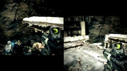Tryb dzielonego ekranu w grze Killzone 3