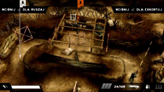 Tryb wydawania rozkazów grze Killzone Liberation