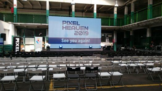 Zaproszenie na Pixel Heaven 2019 na koniec Pixel Heaven 2018