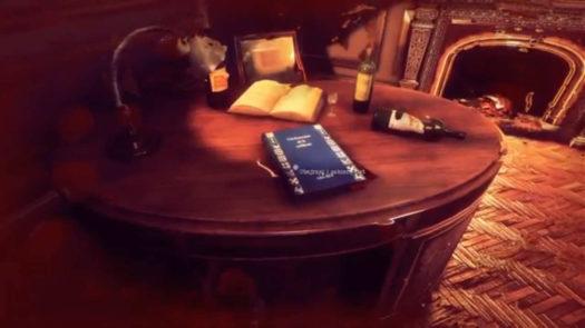 List w książce u Monsieur Brissota w grze Bohemian Killing