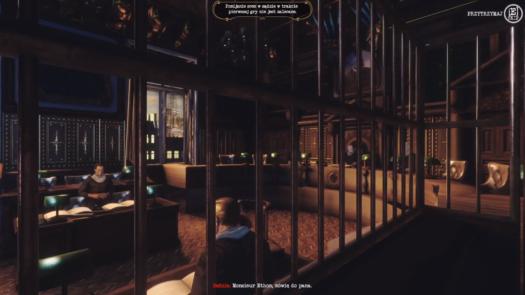 Rozprawa na sali sądowej w grze Bohemian Killing
