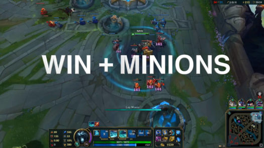 WIN + MINIONS = WINIONS