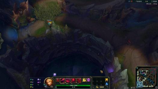 Samodzielne zabezpieczenie obszaru wokół Barona w grze League of Legends