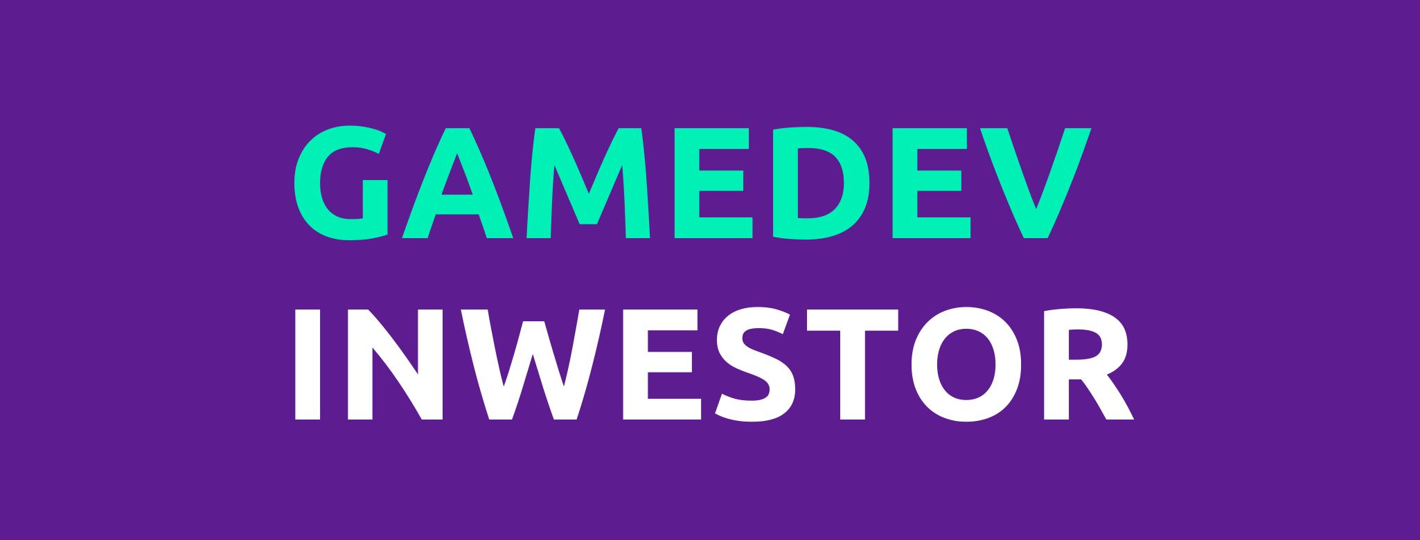 Platforma Gamedev Inwestor